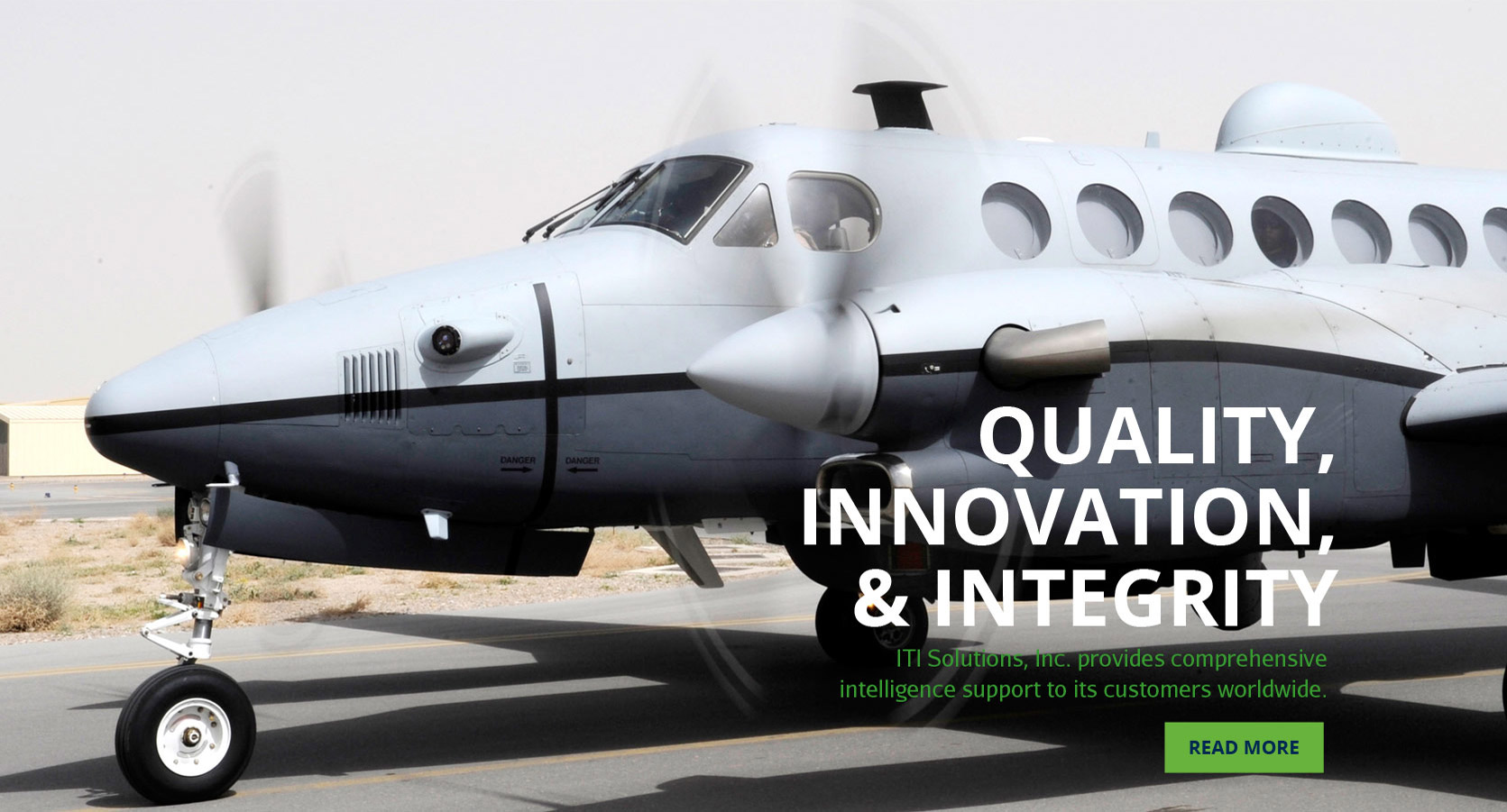 Quality, Innovation & Integrity