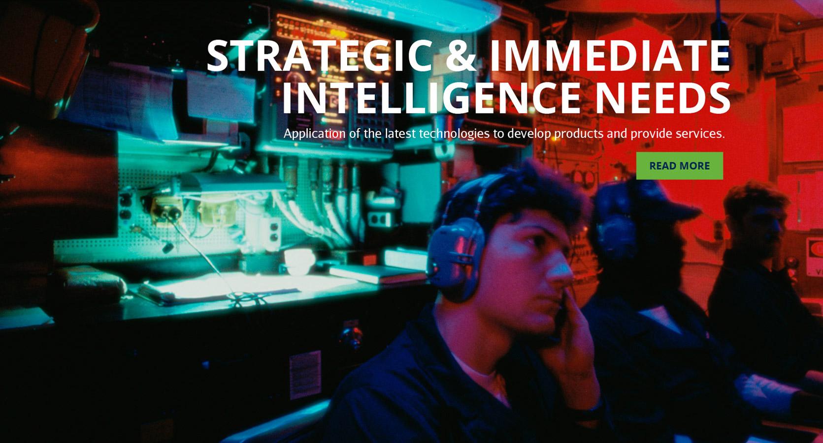 Strategic & Immediate Intelligence Needs